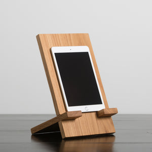 HDC Tablet Holder Oak