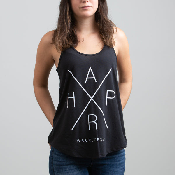HARP X Graphic Tank Black