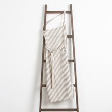 Gray Striped Apron