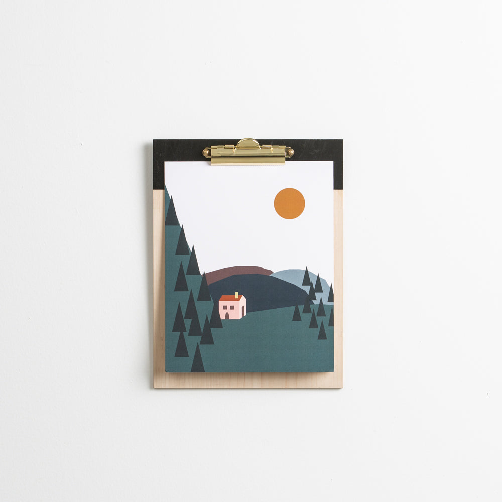 Cabin in the Woods Print 8