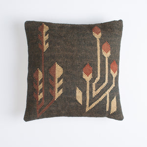 Jute and Wool Kilim Pillow
