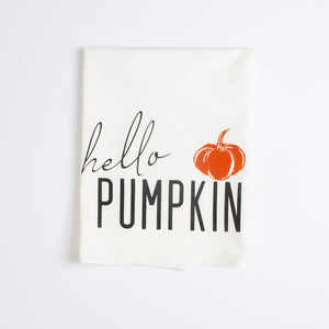 Hello Pumpkin Towel