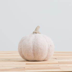 Wool Felt Pumpkin Large