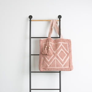 Cotton Chenille Tote Bag