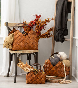 Small Woven Seagrass Basket