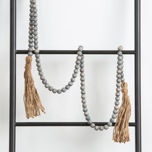 Grey Bead Garland