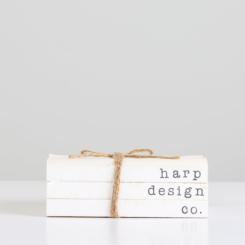 Harp Design Co. Book Set