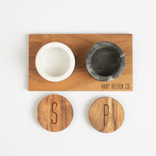 Marble Salt & Pepper Pots