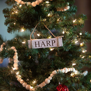 Rectangle HARP Ornament