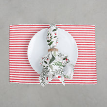 Holiday Sprig Printed Napkin