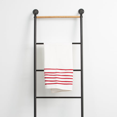 Red Stripes Towel