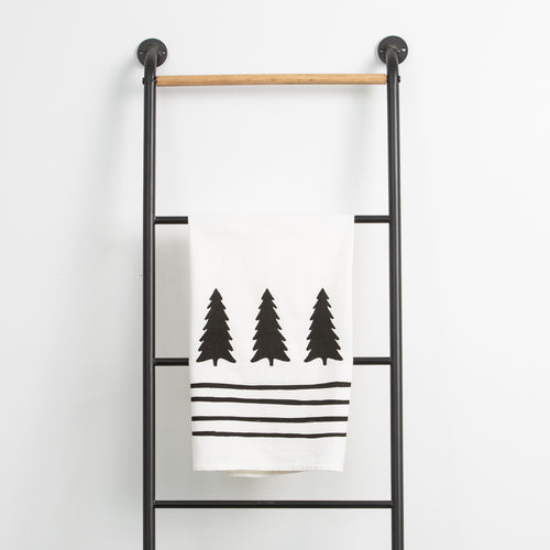 Trees and Stripes Towel