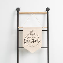 Merry Christmas Canvas Banner