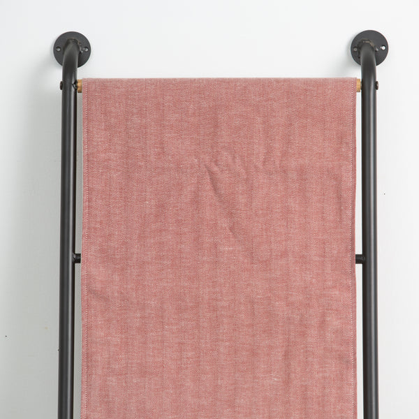 Cranberry Herringbone Table Runner