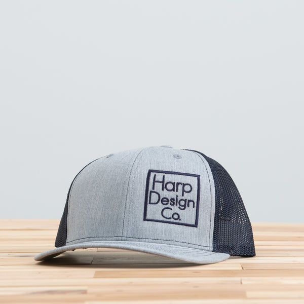 Harp Design Co. Navy Mesh Hat
