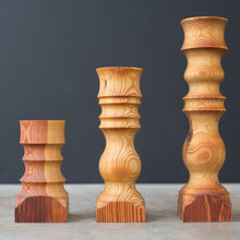 HDC Signature Candlestick in Antique Pine