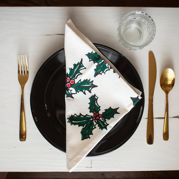 Holly Berry Napkin