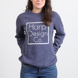 Harp Design Co. Navy Sweatshirt