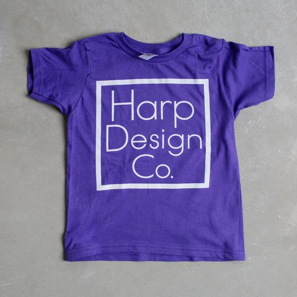 Signature Kids T-Shirt PURPLE