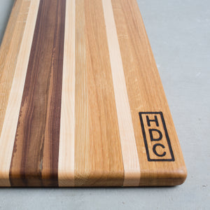 HDC Striped Charcuterie Board