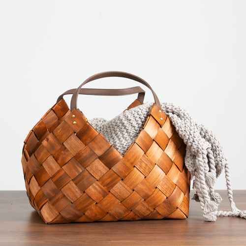 Medium Woven Seagrass Basket