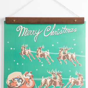 Merry Christmas Vintage Poster