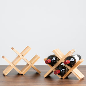 Hickory Wine Holder