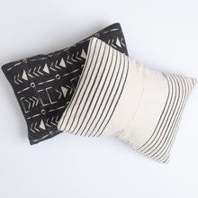 Mudcloth Black Pillow