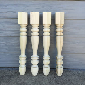 Kid's Farmhouse Table Legs