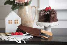 Wooden Cake Knife and Server Set