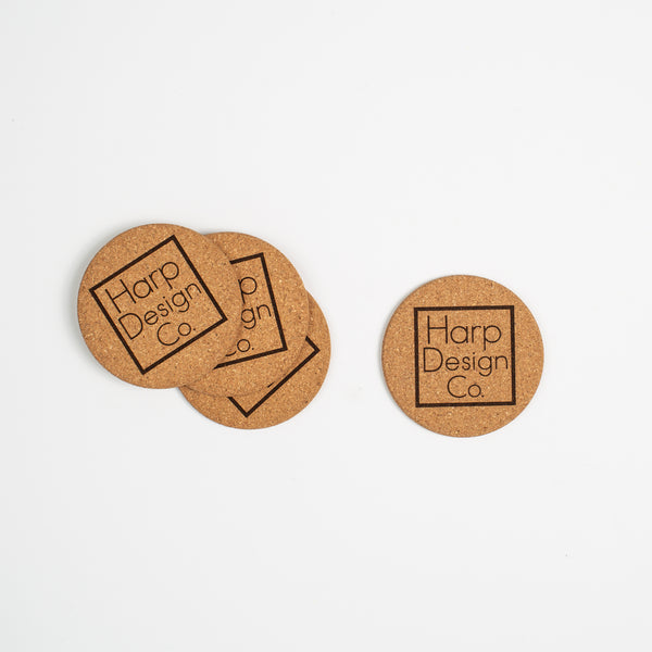 Harp Design Co Coaster