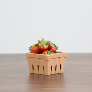 Clay Berry Basket