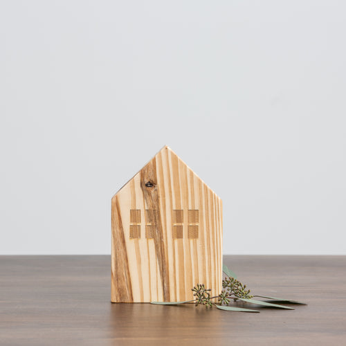 Natural Wood House Short