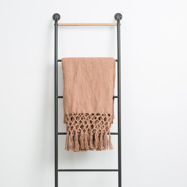 Putty Throw with Fringe