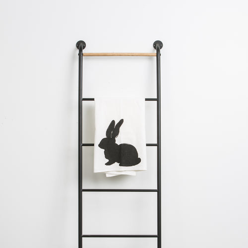 Bunny Silhouette Towel