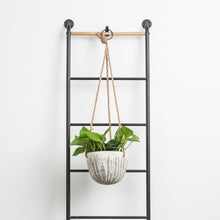 Hanging Gray Distressed Planter