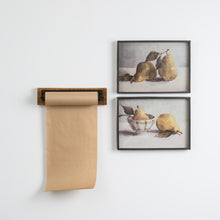 Wood & Metal Kraft Paper Holder