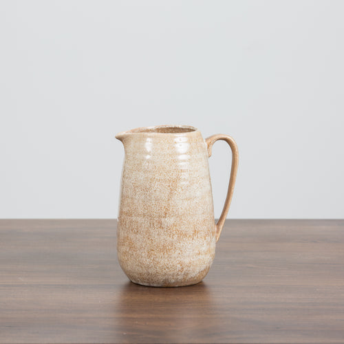 Stoneware Putty Pitcher