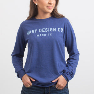 HDC Waco Long Sleeved T-Shirt Navy