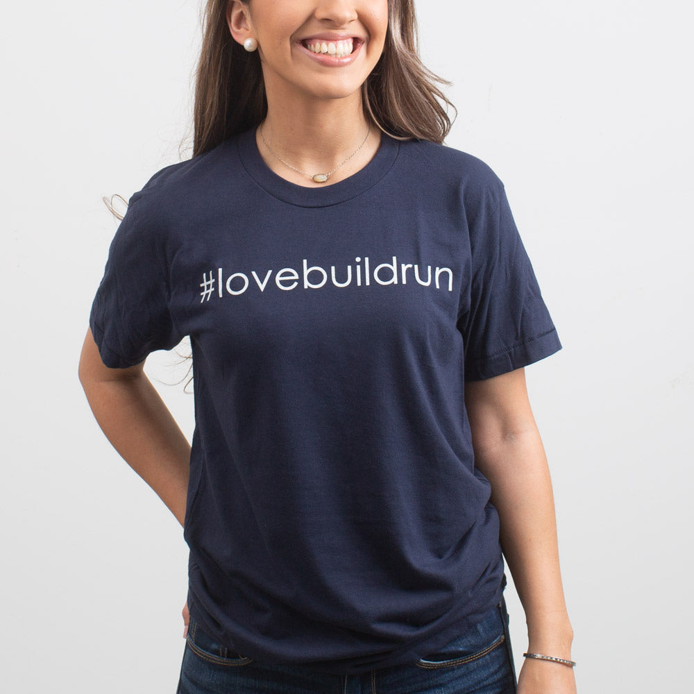 #lovebuildrun T-Shirt