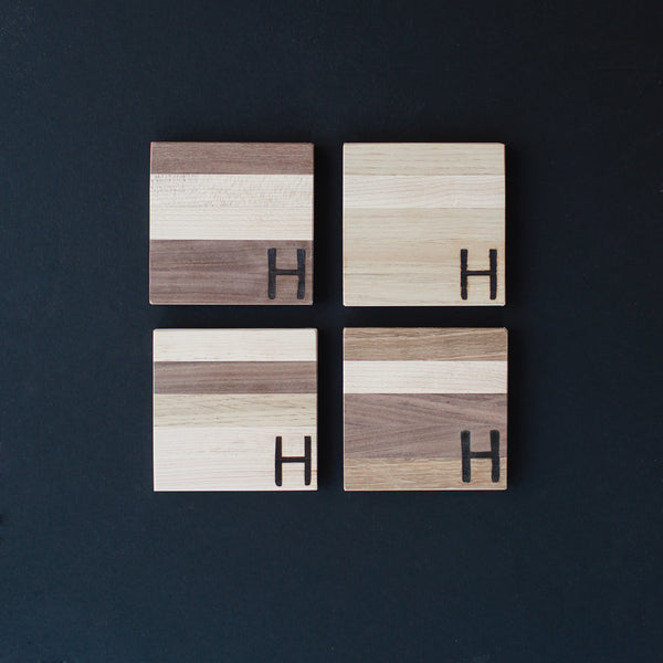 HDC Mixed Wood Coasters