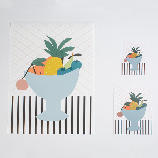 Fruit Bowl Print
