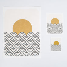 Sunset and Sea Print
