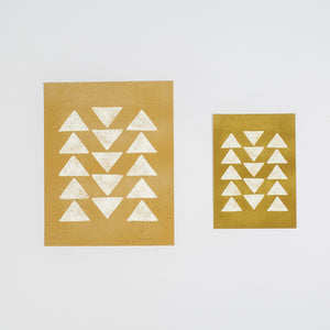 Triangles Print