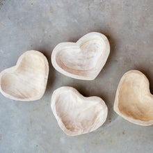 Wooden Heart Bowl