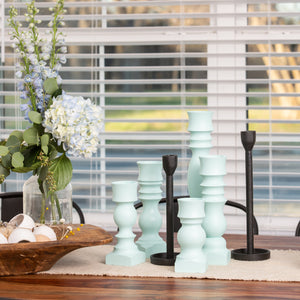 HDC Signature Candlesticks Robin Egg Blue