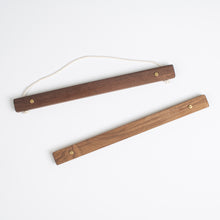 Large Wooden Picture Hanger Walnut