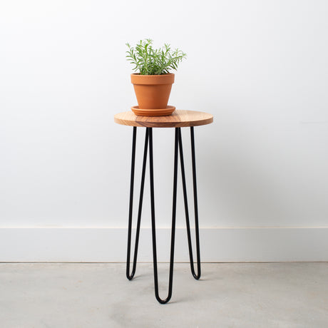 Side Table Plant Stand Large