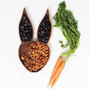 Rabbit Tray Walnut