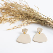 Laura Clay Earring - Matte Natural
